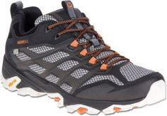 Merrell Men's Moab FST WP Low Hiking Shoes Black 10 Wide