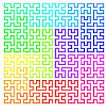 Image result for fractal quilt patterns where does this come from??  and how! do it make it!