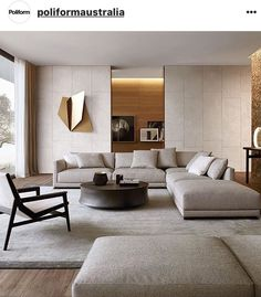 45 Modern Industrial Interior Design Living Room Décor Ideas - HOMYFEED In every age, furniture is made for the same basic purposes. Tables, desks and workbenches provide space for work or … Living Room Modern, Living Room Interior, Home Living Room, Home Interior Design, Living Room Decor, Modern Interior, Living Area, Modern Luxury, Contemporary Living Room Designs