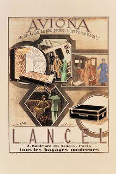 De ses bagages modernes, nés du développement des transports, à l'élégance parisienne faite sac, retour sur l'histoire du maroquinier. 1920s, Bookends, Photos, Baggage, Fashion History, Bag, Pictures