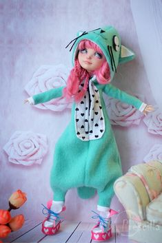 Ever after Monster high Doll Cupid OOAK by Дарья Кавун
