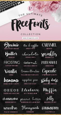 If you're looking for some new fonts for personal use for your collection, check out this collection over at Blog Pixie. Free fonts are the perfect thing for all scrapbookers, whether you scr…