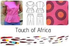 Do you like prints? We do! Which is your favourite? Pink, blue or brown?  www.touch-of-africa.co.uk Your Favorite, Pink Blue, Africa, Kids Rugs, Touch, Clothes For Women, House Styles, Brown, Prints