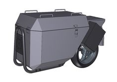 Latest Single Wheel Motorcycle Trailer News from Mono-Trail Motorcycle Towing, Motorcycle Trailer, Bike Trailer, Trailer Build, Scooter Bike, Bicycle, Adventure Trailers, Expedition Trailer, Sidecar