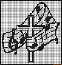 Thrilling Designing Your Own Cross Stitch Embroidery Patterns Ideas. Exhilarating Designing Your Own Cross Stitch Embroidery Patterns Ideas. Blackwork Patterns, Alpha Patterns, Embroidery Patterns, Cross Stitch Patterns, Crochet Cross, Filet Crochet, Crochet Chart, Cross Stitch Music, Cross Stitch Charts