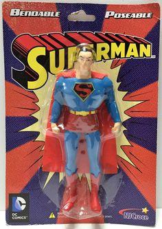 (TAS033883) - DC Comics Bendable Poseable Superhero Action Figure - Superman