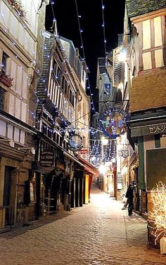 Christmas in Saint Michel, France | by baptistedavid