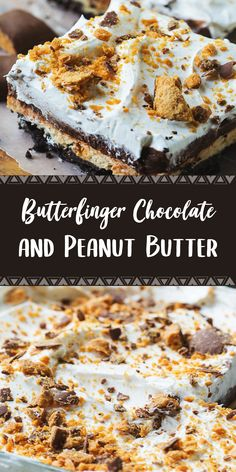 Ingredients 32 Oreo cookies 5 tablespoons butter, melted 1 package cream cheese, softened 1 cup confectioners' sugar cup c. Butter Finger Dessert, Peanut Butter Dessert Recipes, Cupcake Recipes, Baking Recipes, Cookie Recipes, Snack Recipes, Fall Recipes, Healthy Recipes, Easy Desserts