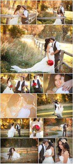 Country Idaho Wedding - Bohemian, chic and elegant.