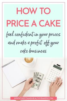 Are you transitioning from hobby to business baker and wonder how to price your cakes and still make a profit from your cake business? Click through for a step-by-step guide to cake pricing. Home Bakery Business, Baking Business, Catering Business, Business Tips, Bakery Business Cards, Cake Decorating For Beginners, Cake Decorating Videos, Cake Decorating Techniques, Decorating Ideas