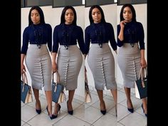 Corporate attire for Women Classy Work Outfits, Classy Dress, Office Outfits, Chic Outfits, Fashion Outfits, Casual Office, Office Style, Office Dresses, Corporate Fashion