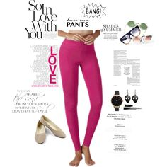 A fashion look from September 2016 featuring track pants, pointy-toe flats and…
