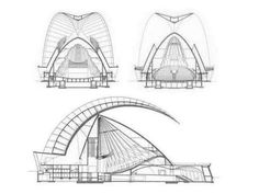 Architecture Concept Diagram, Futuristic Architecture, Amazing Architecture, Architecture Design, Auditorium Architecture, Tenerife, Steel Building Homes, Zaha Hadid Architects, Santiago Calatrava