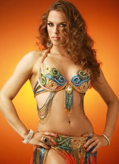 Oasis Belly Dance Costume - Professional Belly Dance Costumes - Belly Dance Costumes - The Turkish Emporium