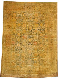 Tabriz carpet  Northwest Persia,  circa 1920  size approximately 9ft. 1in. x 12ft. 6in.