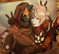 memories by kotorikurama Destiny Bungie, Destiny Cayde 6, Destiny Comic, Destiny Hunter, Destiny Warlock, Game Character, Character Concept, Concept Art, Character Design