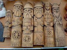 lazyacorn: the silence of the desert • Pagan Slavic Idols: Dazhdbog, Khors, Lada,… on We Heart It. https://weheartit.com/entry/26934102/via...