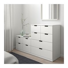 NORDLI white, Chest of 10 drawers, cm. You can build NORDLI chest of drawers any which way – wide, low or in different heights to create the perfect solution for your space. Please attach to the wall. Ikea Bedroom, Room Ideas Bedroom, Bedroom Furniture, Bedroom Decor, Box Bedroom, At Home Furniture Store, Modern Home Furniture, Gothic Furniture, Nordli Ikea