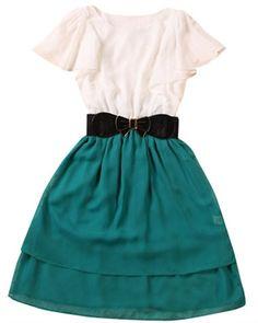 Two Toned Bomb Dress