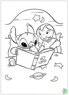 Coloriage Disney Lilo Et Stitch.Coloriage Lilo Et Stitch Disney Pinterest Points De Lilo Et Stitch