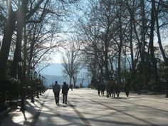 Fotografía: Dulce Gala - Ronda Sidewalk, Sevilla, Vacations, Sweet, Europe, Cities, Scenery, Side Walkway, Sidewalks
