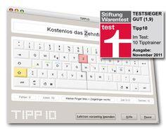 TIPP10 ist ein kostenloser 10-Finger-Schreibtrainer für Windows, Mac OS und Linux