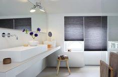 Awesome plisse gordijn badkamer fotos van badkamer decorative