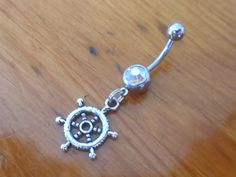 Belly button ring cute