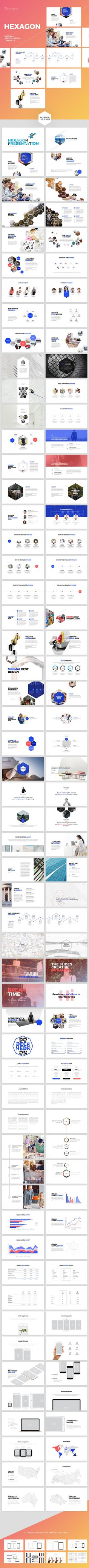 Hexagon-Powerpoint Template