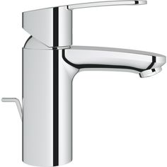 With its smooth curves and fluid lines, the modern Eurostyle Cosmopolitan single-handle bathroom faucet is as stylish as it is versatile. Best Bathroom Faucets, Single Handle Bathroom Faucet, Steam Showers Bathroom, Bathroom Fixtures, Basin Mixer, Amazing Bathrooms, Bathroom Accessories, Modern Design, Chrome