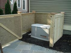 Acoustiblok® and QuietFiber® Layered to Quiet Residential Generator in Maryland Homeowner's Weekend DIY Sounproofing Project Pool Equipment Enclosure, Pool Equipment Cover, Air Conditioner Cover Outdoor, Fence Around Pool, Maryland, Generator Shed, Hidden Pool, Backyard Renovations, Diy Pool