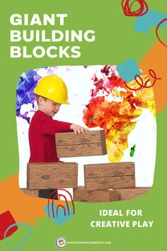 Discovery Building Sets offers giant building blocks, ideal for stimulating your child's curiosity and creativity. These jumbo blocks are proudly made in America from 50% recycled cardboard. Together with their easy-fold assembly, they create durable, giant blocks for years of creative play. Don't miss an opportunity to engage in some quality block play with your child. Giant Building Blocks, Blocks For Toddlers, Block Play, Interactive Toys, Creative Play, Made In America, Toddler Toys, Quality Time, Curiosity