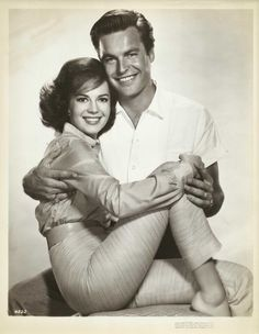 #Sixties | Publicity shot of Natalie Wood and Robert Wagner for All the Fine Young Cannibals, 1960