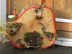A sample of our outdoor fairy houses Fairy Homes, Forest Fairy, Sculptures, Gardens, Houses, Homemade, Heart, Outdoor, Woodland Fairy