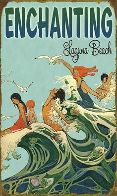 Art Mermaid On Beach   looks like fun enchanting