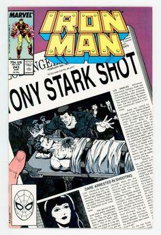 iron man #243 (jun 1989 #Marvel) vf/nm windsor-smith tigra from $0.99