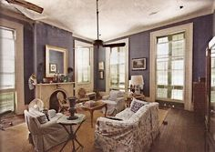 The Treme is more than an a HBO TV show about New Orleans. The uncovered old plaster walls are left as is The Treme is the oldest neighborh. Acadian Homes, Condominium Interior, Oak Mantel, Louisiana Plantations, Creole Cottage, French Creole, Shotgun House, Plaster Walls, Color Inspiration