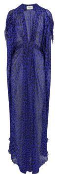 TEMPERLEY LONDON | Oberon long silk kaftan ($1,335)