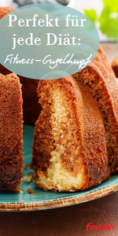 Are you on a diet but don't want to do without cake? Then how about this tasty fitness ring cake … Easy Cookie Recipes, Pumpkin Recipes, Cupcake Recipes, Dessert Recipes, Healthy Muffins, Easy Healthy Breakfast, Healthy Sweets, Healthy Foods, Frozen Breakfast