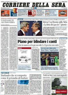 Il Corriere della Sera (15-09-13)