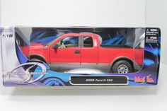 Maisto 2006 Ford F-150 Red 1:18 Scale Die Cast Model Car NIB in Toys & Hobbies, Diecast & Toy Vehicles, Cars, Trucks & Vans | eBay