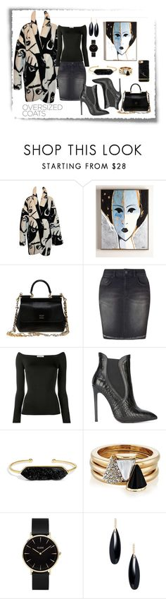 """Day at the Museum"" by astrild15 on Polyvore featuring Dolce&Gabbana, Miss Selfridge, Valentino, Gianni Renzi, BaubleBar, Brixton, CLUSE and Janis Savitt"