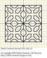 Stitch-Creations: Biscornu SAL deel 15
