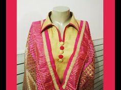 (12) Latest Collar Neck Design   Neck Design Cutting and Stitching for Punjabi suit/kurti - YouTube