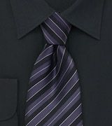 Purple Mens Neck Ties