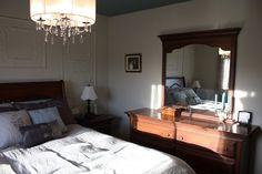 Chambre à coucher réaliser par une de nos designer! décoration, venez nous voir pour de nouveaux projets. Le jardin d'Andrée-Anne, www.lejardin.ca Furniture, Decor, Home Decor, Bed