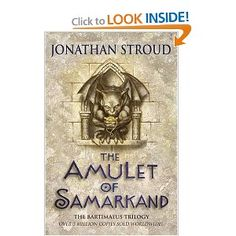The Amulet of Samarkand by Jonathan Stroud  #Books  #Fantasy #JonathanStroud