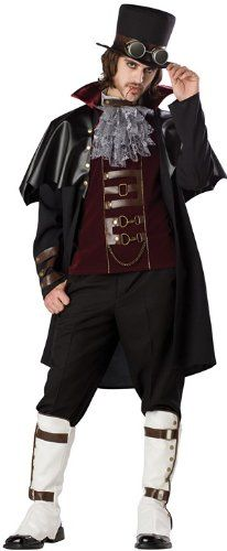 Ever so favorite Steampunk Victorian Vampire Adult Plus Costume. Popular Collection of Steampunk Costumes for Halloween at PartyBell. Viktorianischer Steampunk, Steampunk Costume, Steampunk Clothing, Steampunk Fashion, Steampunk Outfits, Steampunk Images, Steampunk Wedding, Victorian Vampire Costume, Vampire Costumes