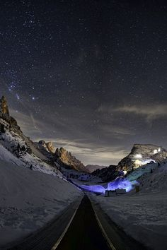 Dolomiti Night | Giò Tarantini. Ima go, if I can find out where it is. . .