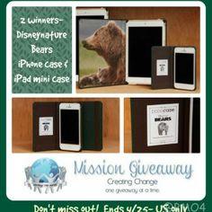 WIN #DisneynatureBears iPhone/iPod Mini Case! #MissionGiveaway